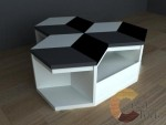 Hexa Cube Coffee Table