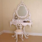 Rococo Round Dressing Table