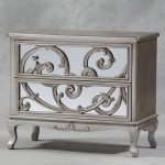 Rococo Mirrored Chest Drawer