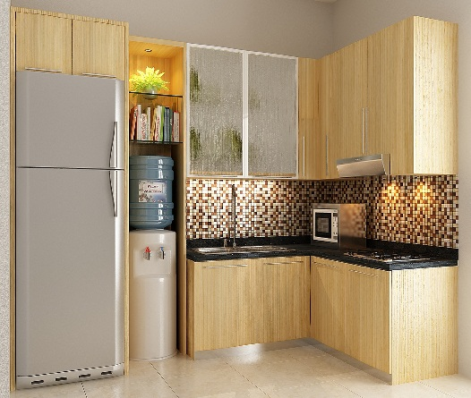 Kitchen Set Minimalis Natural Createak Furniture Createak Furniture