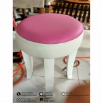 Stool Shabby Chic Pink