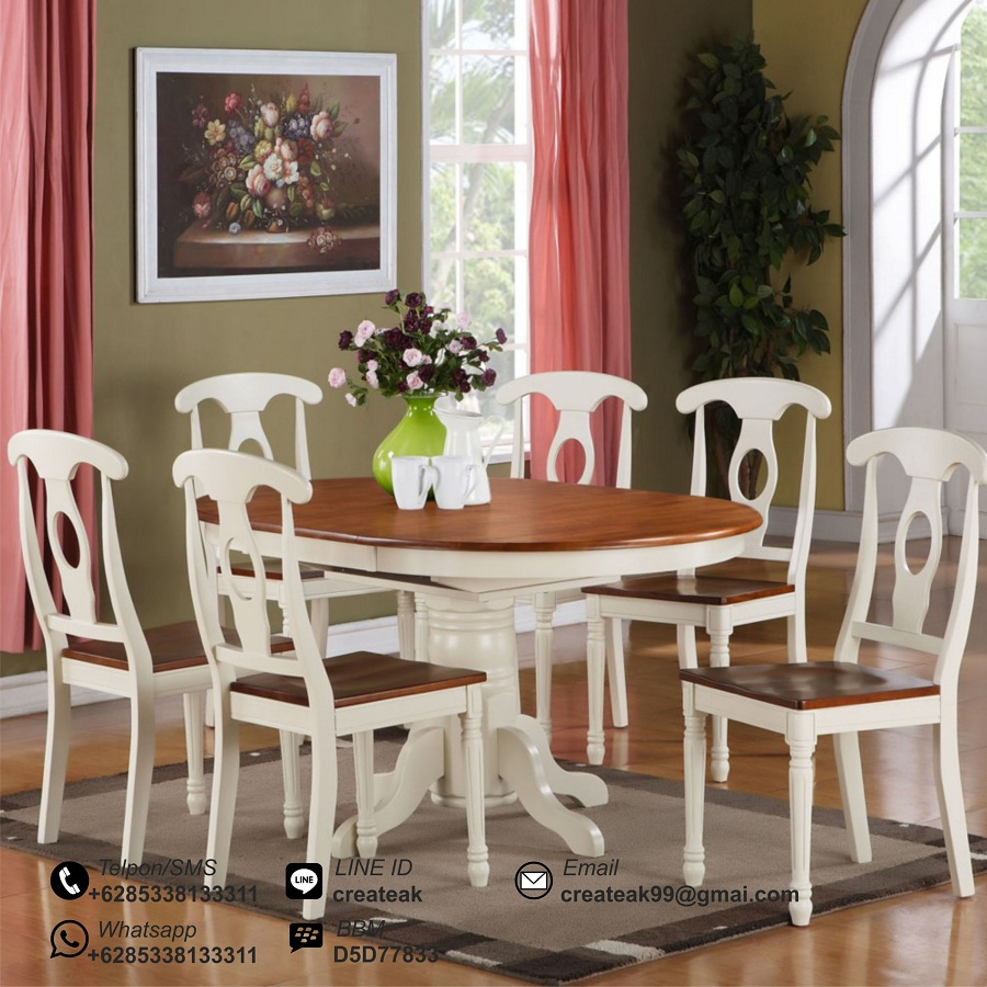 Kursi Makan Minimalis Vintage Createak Furniture