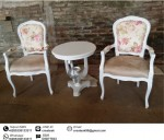 Set Kursi Teras French Shabby Chic