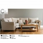 Set Sofa L Retro Minimalis Notingham