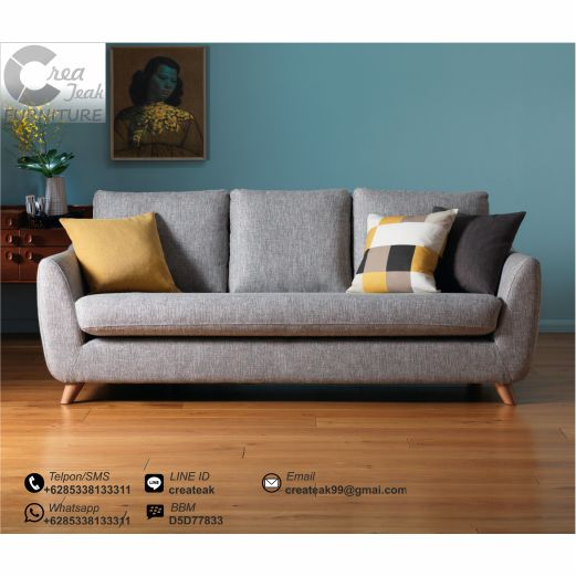 Sofa Vintage Minimalis Watson Createak Furniture Createak Furniture