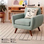Sofa Single Retro Minimalis Allos