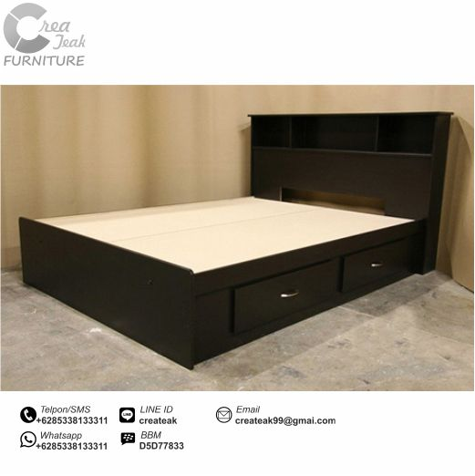 dipan minimalis duco hitam elegan createak furniture