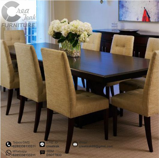 Set Kursi Makan Minimalis Orchard Createak Furniture