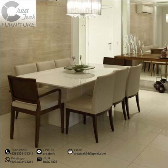 Set Kursi Makan Minimalis Romero Createak Furniture