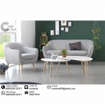 Set Sofa Tamu Vintage Willona