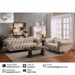 Set Sofa Tamu Chesterfield Versailes