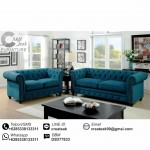 Set Sofa Tamu Minimalis Chesterfield